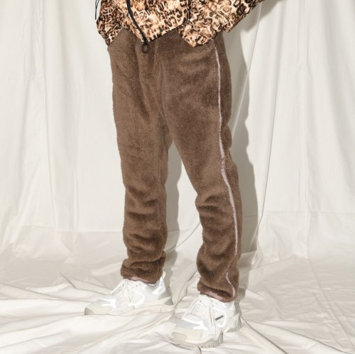 DOUBLE-FACE PANTS_MOCHA_