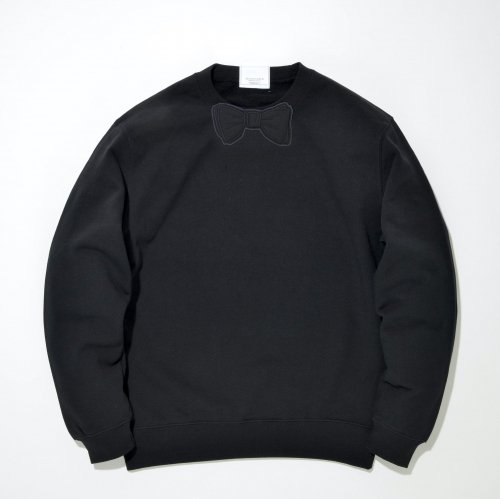 【TR】BLACK  WAPPEN SWEAT_BLACK/BLACK_
