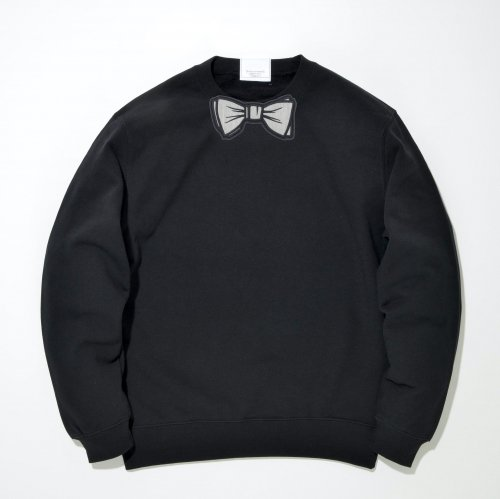 【TR】 GRAY WAPPEN SWEAT_BLACK/GRAY_
