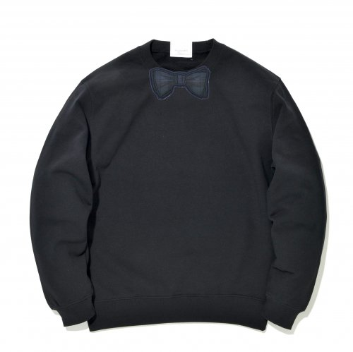 【CHECK】 NAVY  WAPPEN SWEAT_BLACK/NAVY_