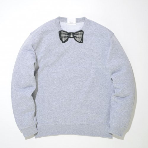 【CHECK】 GRAY WAPPEN SWEAT _GRAY/GRAY_