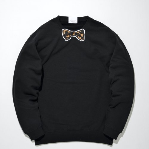 【LEO】 LEO WAPPEN SWEAT _BLACK/LEO_
