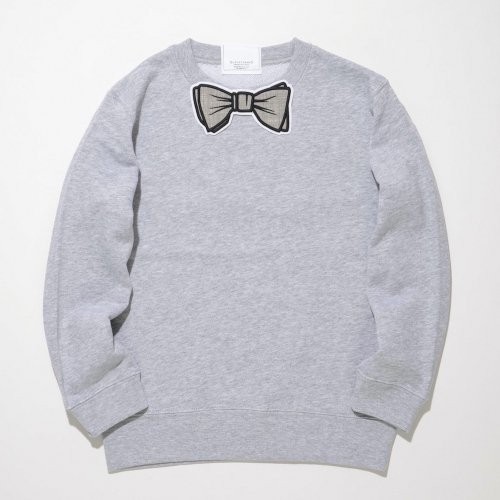 【TR】 GRAY MIX WAPPEN SWEAT _GRAY/GRAY MIX_