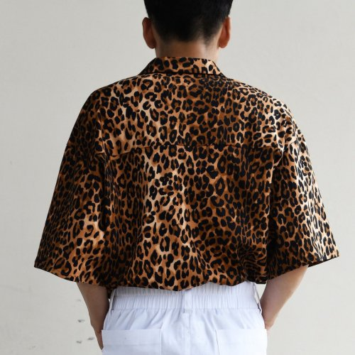 PATCH POCKET SHORT SLEEVE SHIRT_LEO_