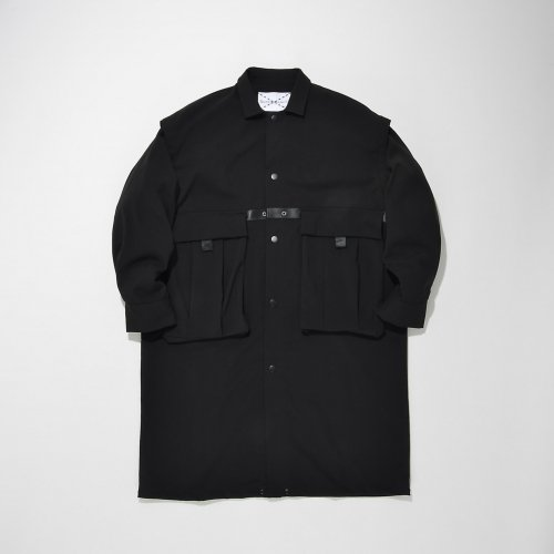 2WAY SHIRT-COAT_BLACK_