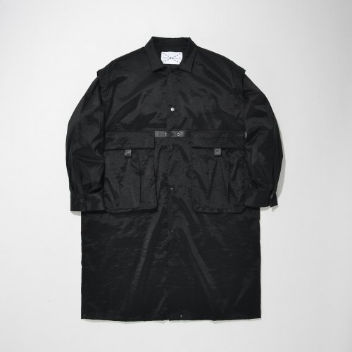 2WAY SHIRT-COAT_N-BLACK_