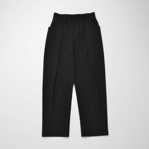 TUCK WIDE PANTS_BLACK_