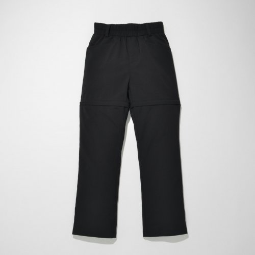 PATCH POCKET 2WAY PANTS_BLACK_