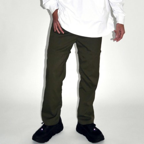 PATCH POCKET 2WAY PANTS_KHAKI_