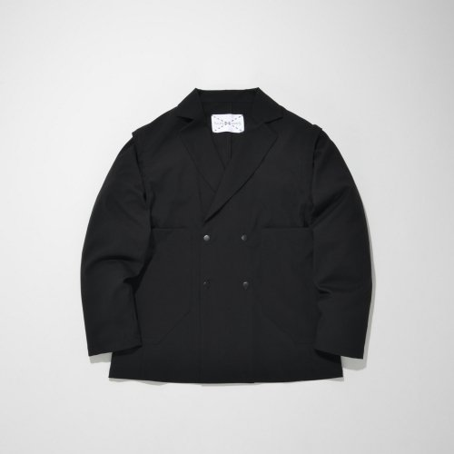 PATCH POCKET 2WAY JACKET_BLACK_