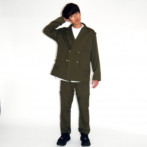 PATCH POCKET 2WAY JACKET_KHAKI_