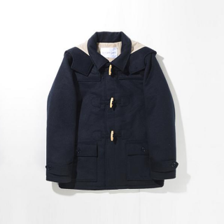 SALE☆ [MENS] メルトンダッフル[NAVY] - 【SUPERTHANKS】14aw1☆
