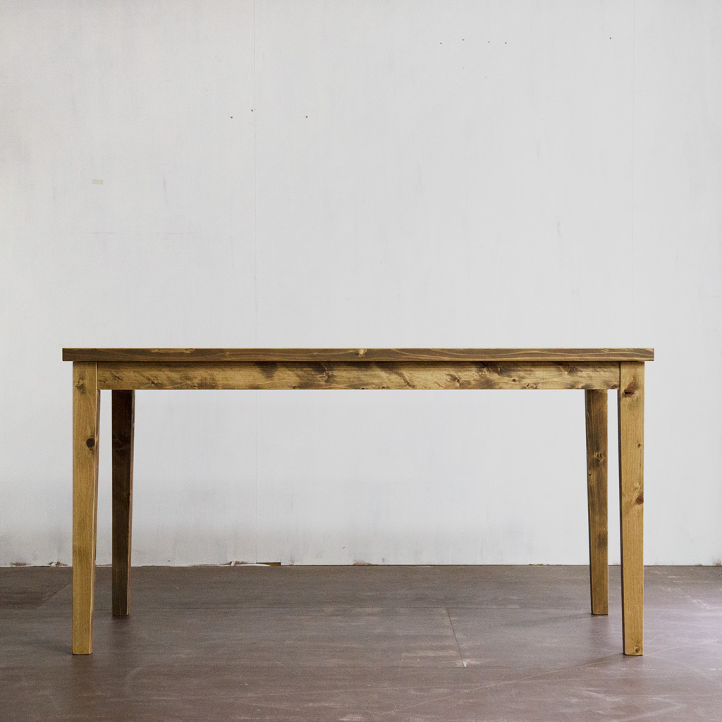 Gatemouth Dining Table 140 正面から