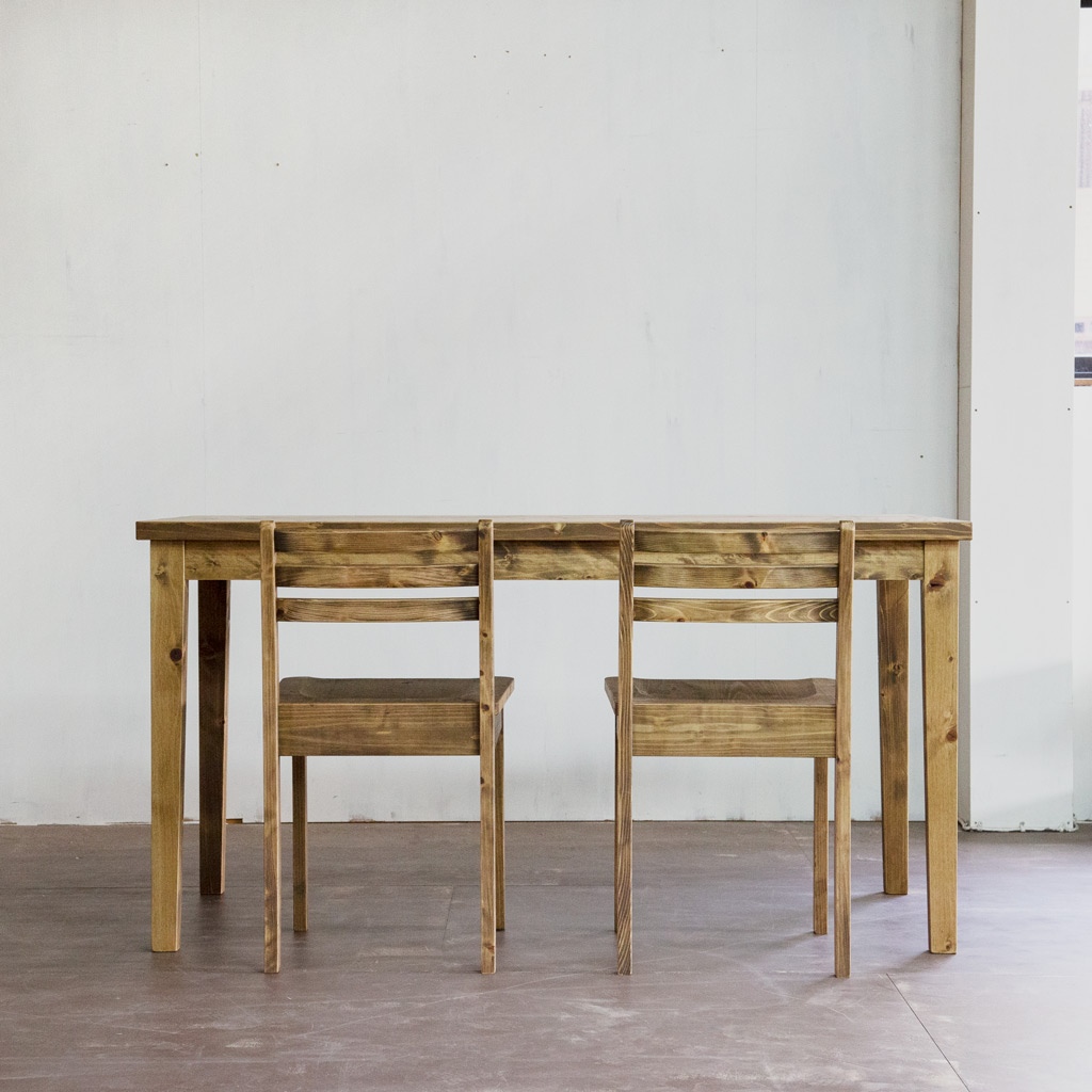 Gatemouth Dining Table 140・Gatemouth chair
