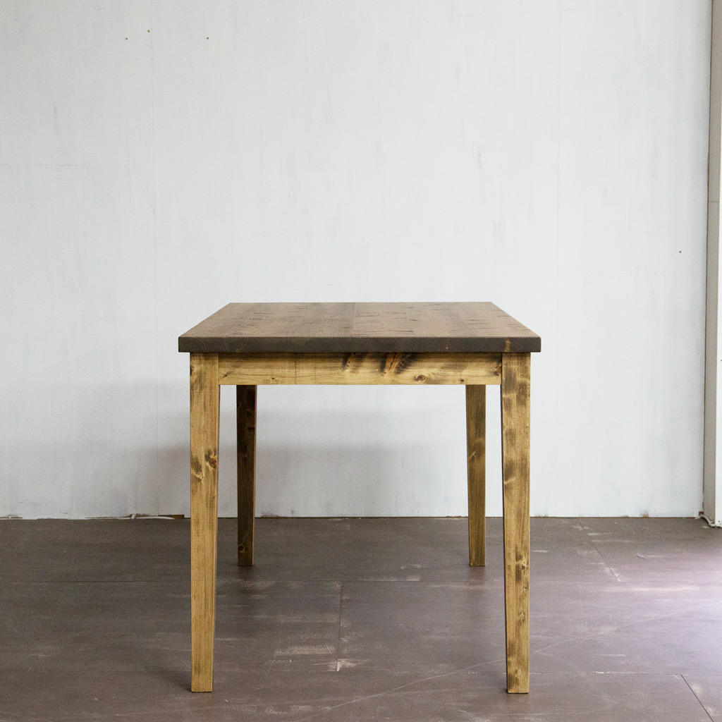Gatemouth Dining Table 140 横から