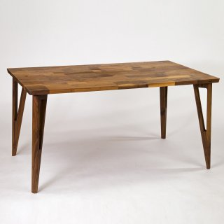 Mojo Delta Dining Table Walnut