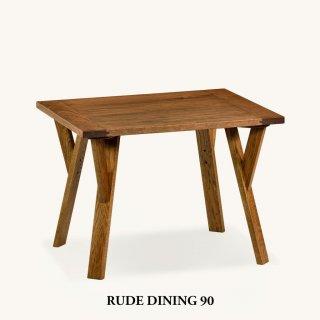【残り3台!在庫限りセール品】RUDE Dining Table 90|ルード ダイニングテーブル 90<img class='new_mark_img2' src='https://img.shop-pro.jp/img/new/icons20.gif' style='border:none;display:inline;margin:0px;padding:0px;width:auto;' />