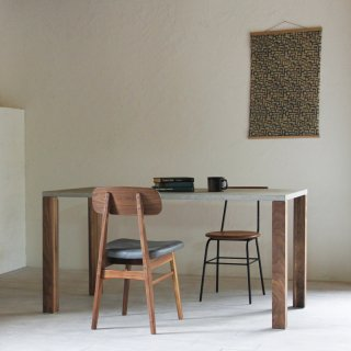 NOMBE dining table mortar walnut ノンベ ダイニングテーブル モルタル ウォールナット