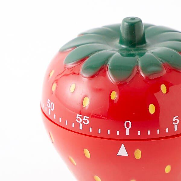 【アイテムキューブ】生活・家具・インテリア > 調理器具 | イチゴグッズ・雑貨 イチゴ型 キッチンタイマー