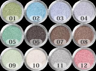 日本製のカラーサンド 小粒(0.5mm程度の粒) 200g Hタイプ(12色の中からお好きな色を1色)