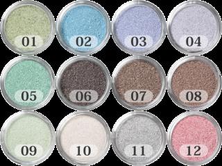 日本製のカラーサンド 細粒(0.2mm程度の粒)Vタイプ (12色の中からお好きな色を1色) 200g