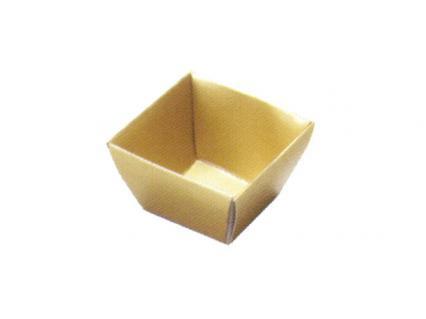 【6.5寸重用 紙ブロック仕切】 H-151-1: 6.5寸用 9個用仕切 金 1個