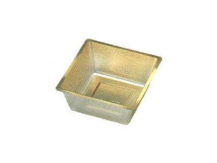 【ワンウェーブロック仕切】 H-151-47A: 5寸用 (72角) 中子 金 1袋(100入)