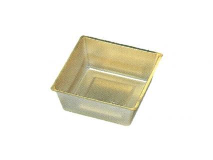 【ワンウェーブロック仕切】 H-151-48A: 5.5寸用 (78角) 中子 金 1袋(100入)