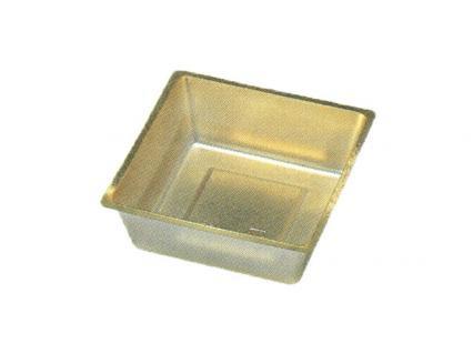 【ワンウェーブロック仕切】 H-151-49A: 6寸用 (87角) 中子 金 1袋(100入)