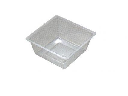 【ワンウェーブロック仕切】 H-151-47E: 5寸用 (72角) 中子 透明 1袋(100入)