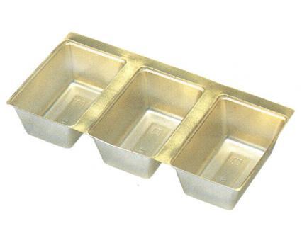 H-151-61: 7寸重用(203長角)中子 金 1袋(100入)