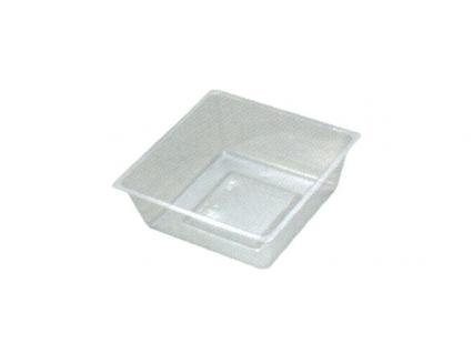 H-153-60E: 7寸重用(67角)中子(ミニ) 透明 1袋(100入)