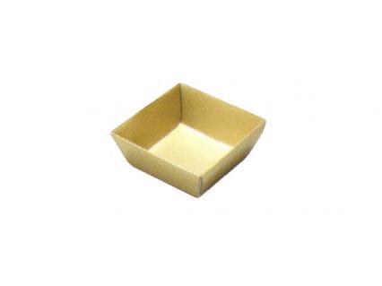 【紙ブロック仕切】 H-152-19: 6寸重用 4個用仕切 金 1個