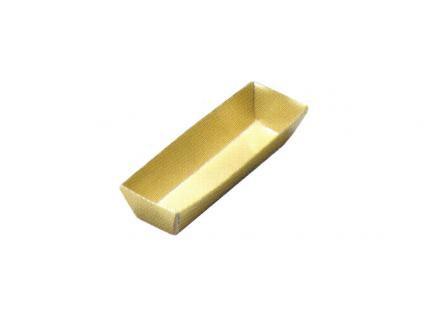 【紙ブロック仕切】 H-152-20: 6寸重用 3個用仕切 金 1個