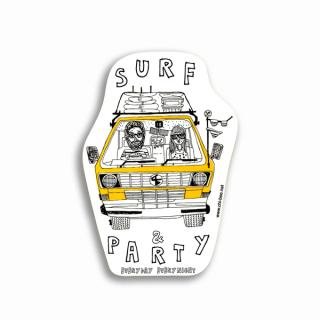 ステッカー Nelson SURF
