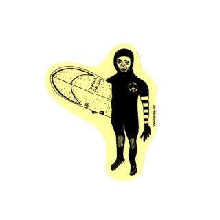 ステッカー Surfing winter