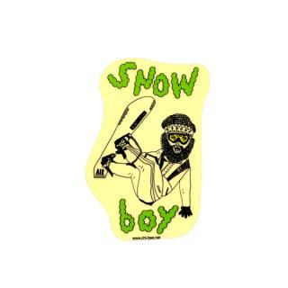 ステッカー SNOW boy