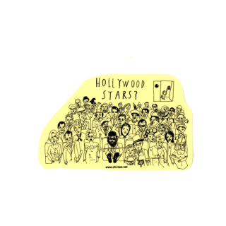 ステッカー Nelson in HOLLYWOOD