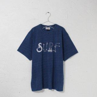 SURF インディゴTシャツ