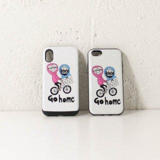 iPhoneケースGo home(ICカード収納可能)