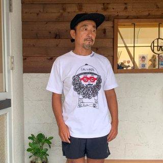 ACT'S×chi-bee コラボ刺繍Tシャツ