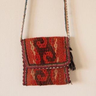 ウズベキスタン 絨毯のバッグ 小1