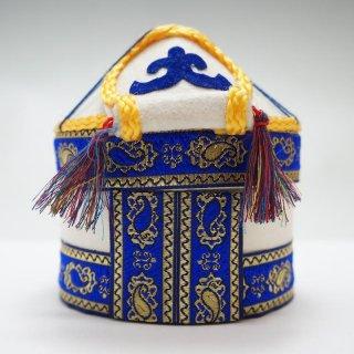 キルギスタン フェルトのユルトボックス
