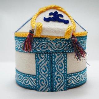 キルギスタン フェルトのユルトボックス−3