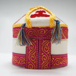 キルギスタン フェルトのユルトボックス−4