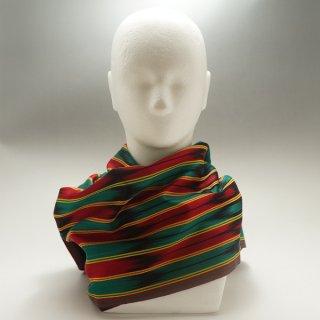ウイグル ホータン伝統の手織りシルク アトラスシルクストール-6
