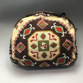ウイグル カザフ民族刺繍バッグ-06