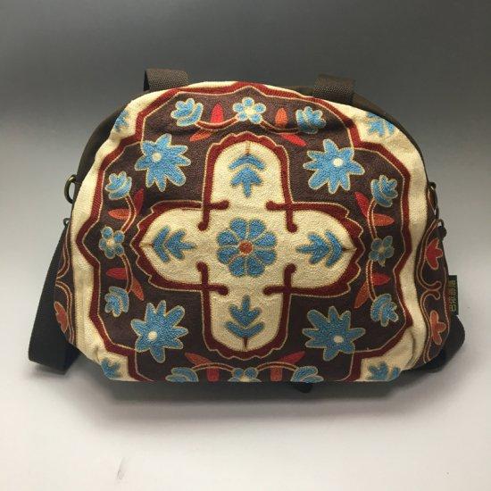 ウイグル カザフ民族刺繍バッグ-08