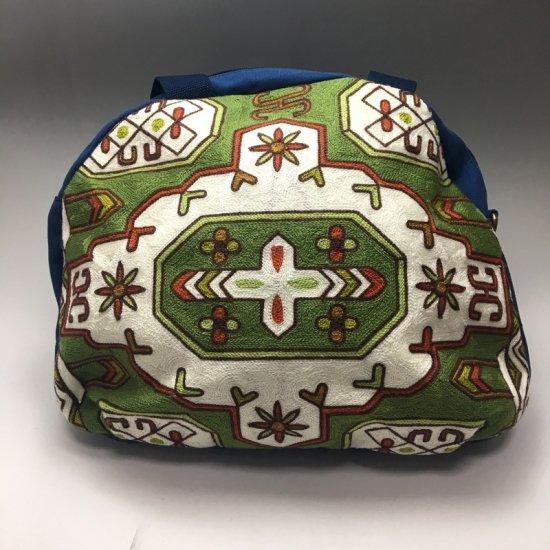 ウイグル カザフ民族刺繍バッグ-11