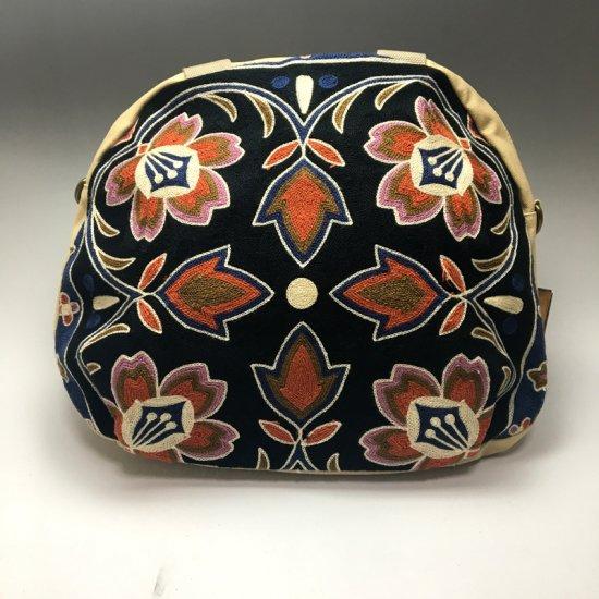 ウイグル カザフ民族刺繍バッグ-12